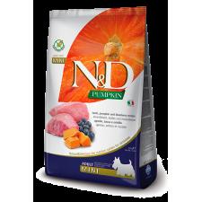 N&D Pumpkin Grain Free Јагнешко и Боровинка  ADULT MINI 7 kg