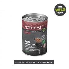 Naturest Adult Телешко и Свинско со моркови и сончогледово масло