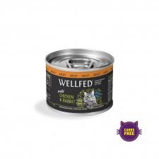 WELLFED  Adult - Пилешко и Зајак 200 гр
